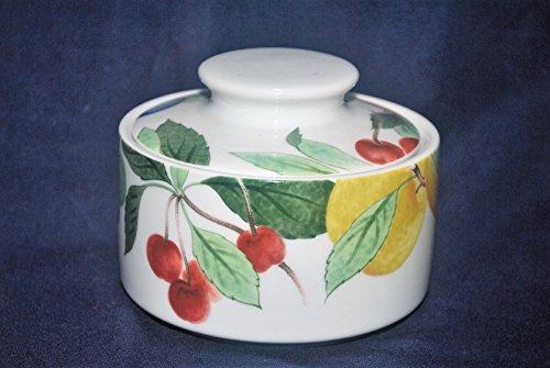 Studio Nova Orchard Jewels China Sugar Bowl with Lid Studio Nova Fruit Bowl