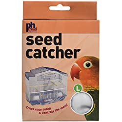 "Prevue Pet Products Mesh Bird Seed Catcher 13"" H, Large Size"