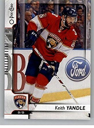 Amazon.com  Hockey NHL 2017-18 O-Pee-Chee  429 Keith Yandle Panthers ... 44f40012a