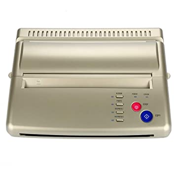 Máquina de Transferencia de Tatuajes, Tipo 2 Impresora Profesional ...