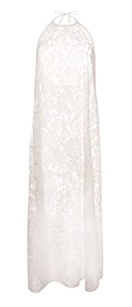 1c142665f2 Primark By Atmosphere Burnout Lace Maxi Dress Large White Amazon