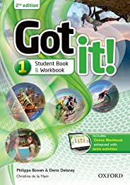Got It! 1 - Students Book and Workbook and Online - 02Edition