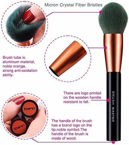 750b466d4f47 Brush Matser Bm 6pcs Premium New Tech Synthetic Kabuki Makeup Brush ...