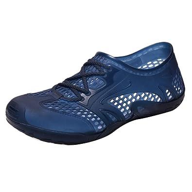 dce330da3d7fc9 Sabots Homme AIMEE7 Été Chaussures Homme Pas Cher Sandales De Plage Homme  évider Plastique Antidérapante Confortables