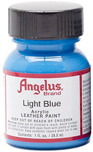 light blue craft paint - 5
