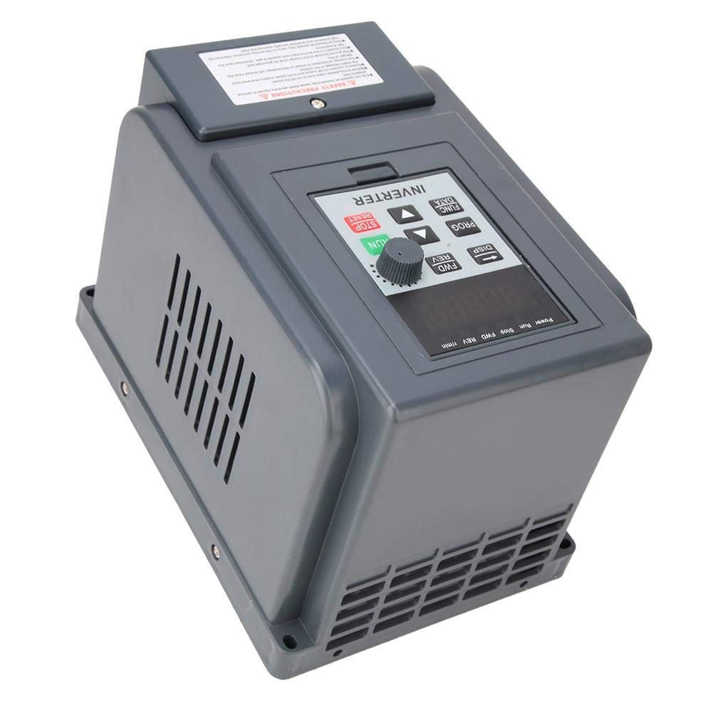 Inverter Motor,Single Phase Input 3-Phase Output Variable Frequency Drive Converter Motor Inverter 0.75kW by Xinwoer