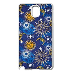 Sun Moon Pattern Classic Personalized Phone Case for Samsung Galaxy Note 3 N9000,custom cover case ygtg542668