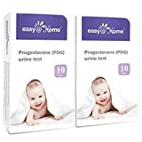 Easy@Home Progesterone (PDG Test) Urine Test Strips Kit -20 Tests, Newly Launched FDA Registered Ovulation Confirmation Test