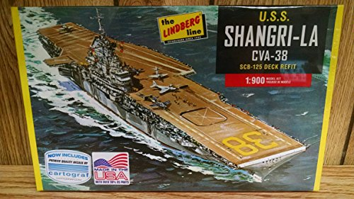 lindberg-hl442-uss-shangri-la-cva-38-aircraft-carrier-1900-scale-plastic-model-kit-requires-assembly