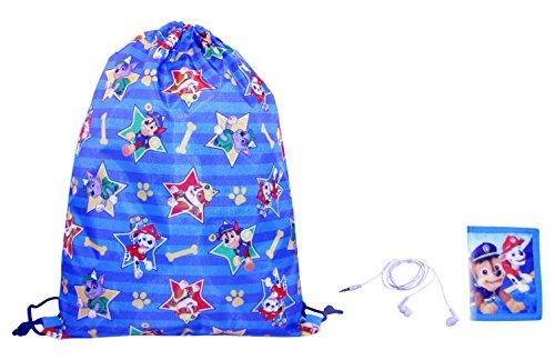 Nickelodeon Boys' Paw Patrol Gift Set Drawstring Bag, Blue, One Size For Sale