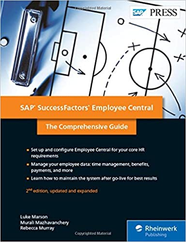 Amazon successfactors employee central the comprehensive guide successfactors employee central the comprehensive guide 2nd edition sap press second edition fandeluxe Image collections