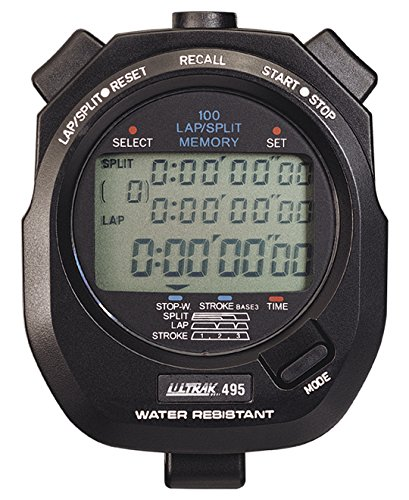 Ultrak 495 100 Lap Memory Timer (2-Pack) (Cei Stopwatch)