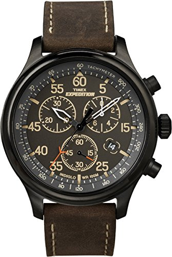 Timex Mens T499059J Expedition Field Chronograph Watch