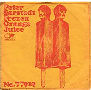 frozen orange juice 45 rpm single
