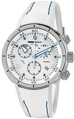 Momo Design Diver Pro Chrono Lady Quartz watch, Stainless Steel 316L,10 atm