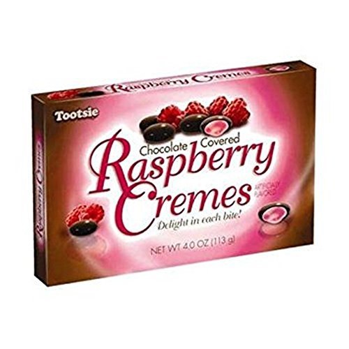 Chocolate Covered Raspberry Cremes Candy Pieces, 4 oz, Pack of3