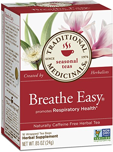 Traditional Medicinals Breathe Facile, 16-Count Boîtes (Pack de 6)