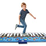 QXMEI Dance Blanket Children's Dance Blanket Stepped Piano Rug Children's Musical Instrument Ottomans Handmade Toys Product Size: 70.9inchs * 29.1inchs