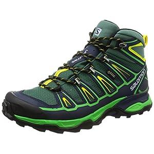 Salomon X Ultra Mid 2 GTX Walking Boots - SS17-9 - Green