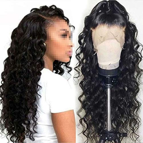 Loose Wave Wig Brazilian Lace Front Human Hair