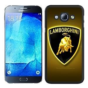 Hot Sale Galaxy A8 Case,Lamborghini Logo 10 Black Samsung Galaxy A8 Screen Phone Case Graceful and Modern Design