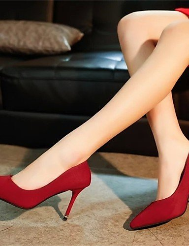 us8 5 Casual red Tacones eu39 eu39 Mujer Stiletto black 5 uk6 Semicuero Tacones us5 uk3 uk6 cn39 cn35 cn39 Rojo Tacón red GGX Negro eu36 us8 qZ6wP1X6