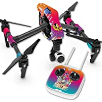 Skin For DJI Inspire 1 Quadcopter Drone – Coral Garden | MightySkins Protective, Durable, and Unique Vinyl Decal wrap cover | Easy To Apply, Remove, and Change Styles | Made in the USA