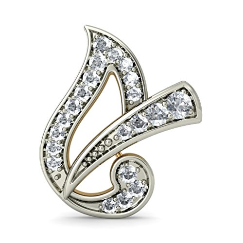 14 K Or jaune 0,3 CT TW White-diamond (IJ | SI) Boucles d'oreille à tige