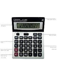 Calculadora, 12 digits Dual Power visualización grande estándar computadora de la oficina calculadoras