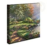 Thomas Kinkade Reflections of Faith 14 x 14 Gallery Wrapped Canvas