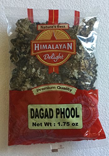 Himalayan Delight Premium Quality Dagad Phool (Stone Flower) - 1.75 Ounce, 50 - Flower Stone