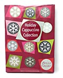 Bella Crema Holiday Cappuccino Collection Gift Box, Instant Cappuccino Variety Set, Christmas Gift Ideas, Coffee Lovers Gift Set, Unique Holiday Gifts