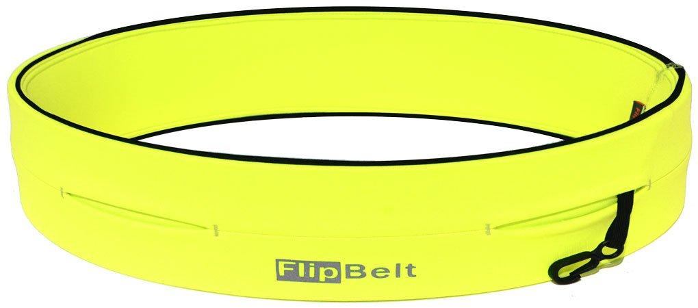 FlipBelt Level Terrain Waist Pouch, Neon Yellow, X-Small/22-25'' by FlipBelt (Image #1)