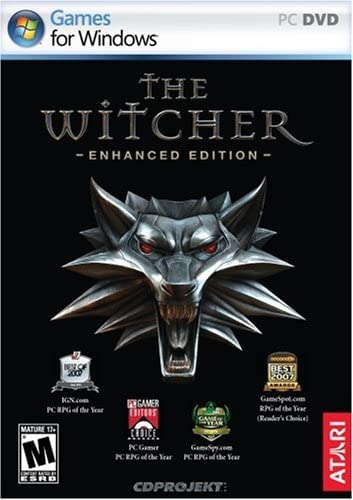 Amazon.com: The Witcher Enhanced - PC: Video Games