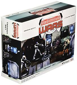 Sedition Wars: Battle for Alabaster Terrain Pack