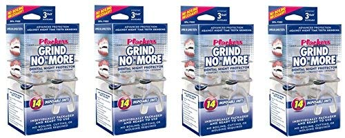 Plackers Grind No More Dental Night Protector, 14 Count (4 Pack)