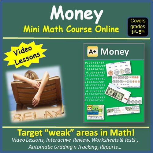 Amazon.com: Learn about Money (covers 1st to 5th grade) - Mini ...