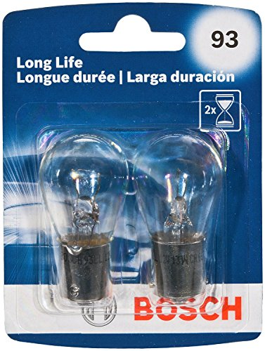 Bosch Automotive 93LL 93 Light Bulb, 2 Pack