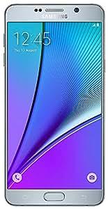 Samsung Galaxy Note 5 N920G 32GB Factory Unlocked Phone - Retail Packaging - Silver (International Version)
