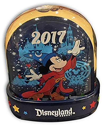 Disneyland Resort 2017 Plastic Snow Globe