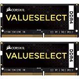 Corsair CMSO16GX4M2A2133C15 RAM Memory Kit 16GB (2x8GB), DDR4-2133MHz SO-DIMM, Unbuffered