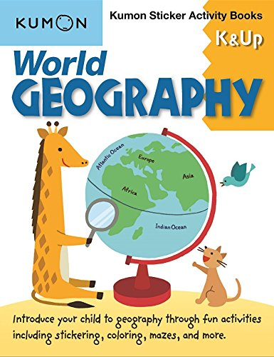 World Geography: Kumon Sticker Activity Books K & Up ebook