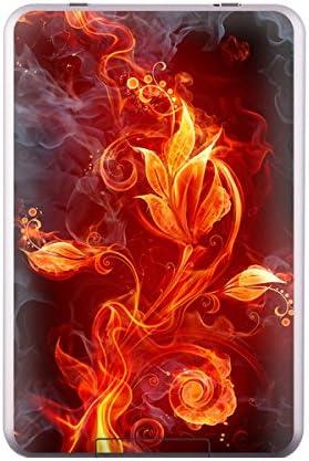 DecalGirl Flower of Fire hochglänzende, dünne Schutzfolie / Sticker für Tolino Shine