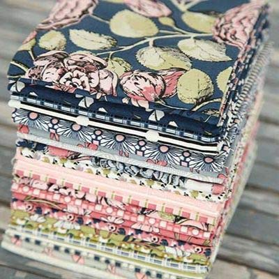Sue Daley Designs Sweet Stems 24 Fat Quarters Penny Rose Fabrics