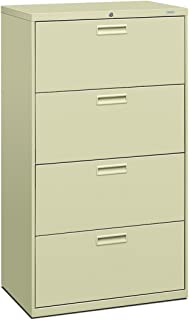 product image for HON 574LL 500 Series 30 by 53-1/4 by 19-1/4-Inch 4-Drawer Lateral File, Putty