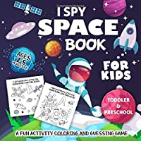 I Spy Space Book for Kids Ages 2-5: