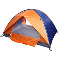 Camping Tent Double Layer 2 Door Backpacking Tents Hiking...