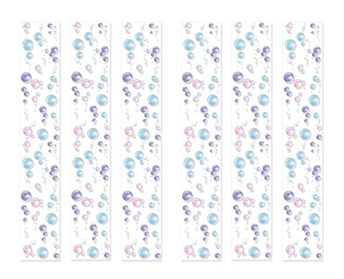 Beistle 59954 Bubble Party Panels, 12