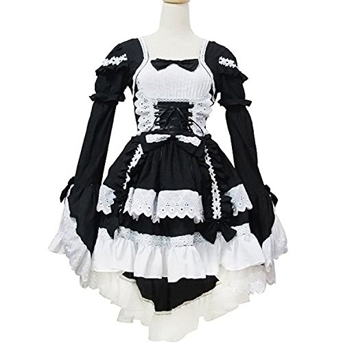 Jojobaby Sexy Japan Cosplay Lolita Maid Halloween Fancy