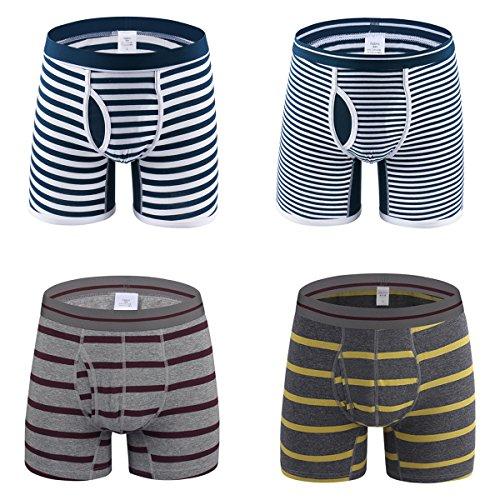 Dardugo 4 Pack Briefs Classic Underwear